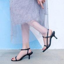 Оранжевые сандалии; женская обувь на высоком каблуке; Цвет черный, белый, розовый; пикантные сандалии с тонкими ремешками; сезон лето; коллекция года; сандалии-гладиаторы под платье; повседневные сандалии для вечеринок