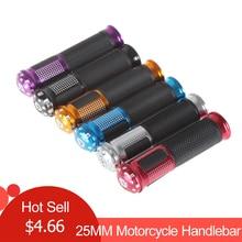 """Универсальный 7/"""" 25 мм CNC руль мотоцикла Ручка Бар мотоцикл руль ручки 4 цвета на выбор"""