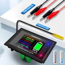 DT24 HD IPS Bluetooth תצוגה דיגיטלית DC כוח APP מד מתח מד זרם סוללה קיבולת בודק דלק מד מתח גלאי מד