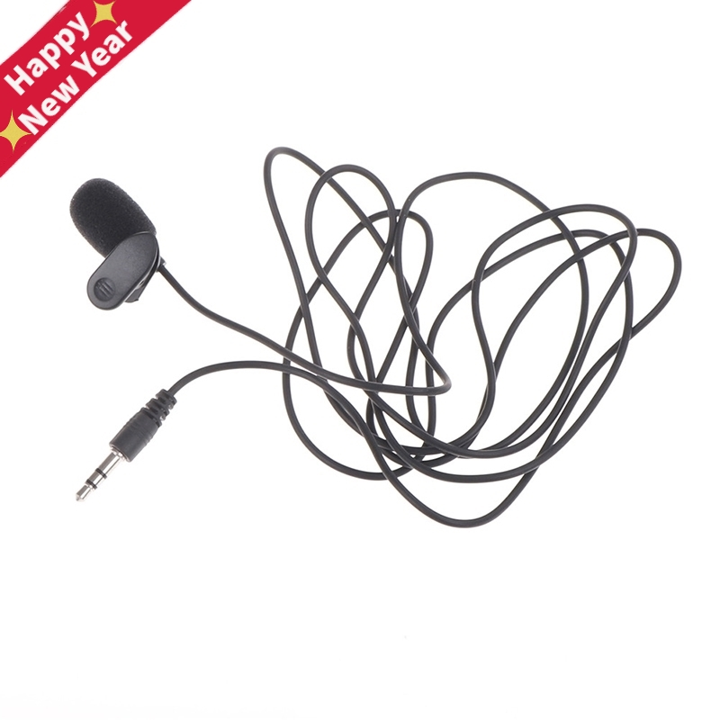 Handsfree 2m Long Wired 3.5 Mm Stereo Jack Mini Car Microphone External Mic For PC Car DVD GPS Player Radio Audio Microphone