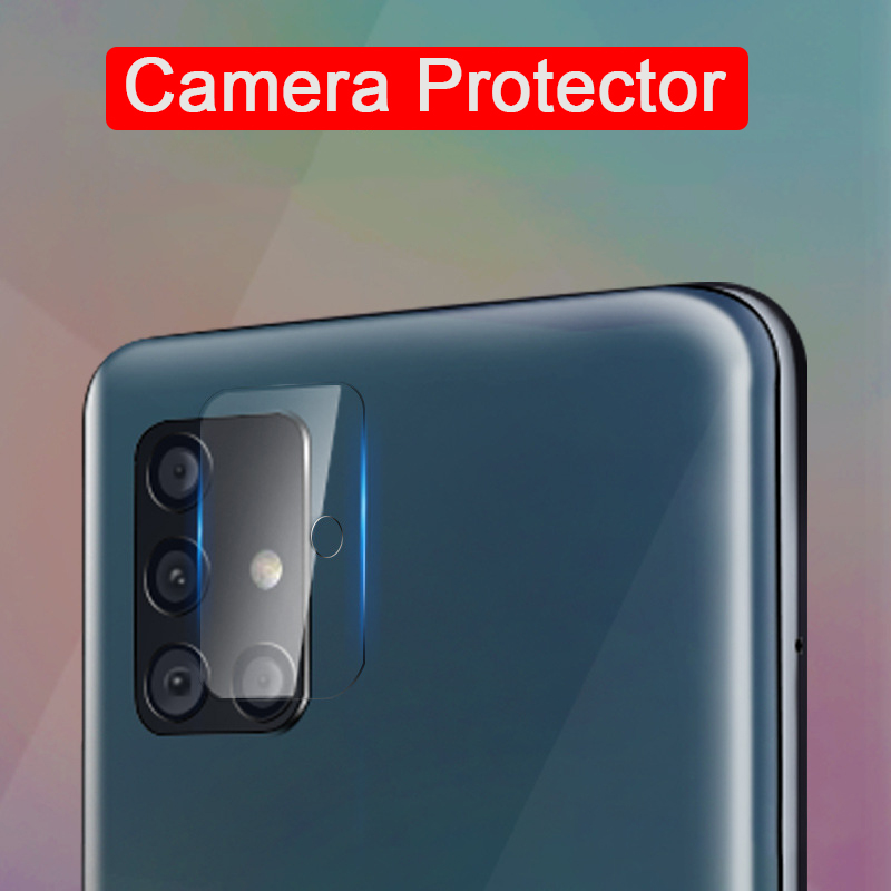 HD Camera Lens Tempered Glass Protector For Samsung Galaxy A51 A50 A50S A70s A70 A71 A7 2018 A 50 50s 51 70 71 Protective Films