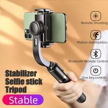 Photo Balancer Wireless Bluetooth Handheld Anti-shake Selfie Stick Foldable mini Tripod Shutter Remote Control for IOS Android