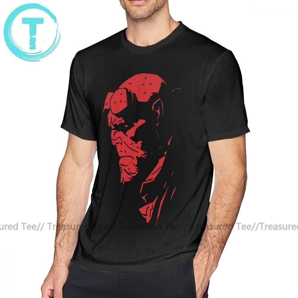 Hellboy T-Shirt Funny Hellboy Comics Men/'s Tee Shirt Short Sleeve S-5XL
