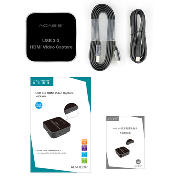 Plug And Play USB3.1 Aluminum Alloy Webcasting External  Card HDMI To Type C Live Broadcast Portable Universal 1080P