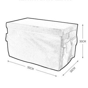 Image 4 - Auto lagerung box M LOGO Auto Stamm Lagerung box Veranstalter Taschen Für BMW X1 F25 X3 X4 F15 X5 F16 x6 1 2 3 5 Serie F10 F20 F30 F34