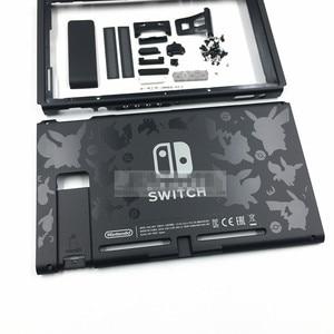 Image 5 - Bricolage nouveau boîtier coque coque de remplacement avec Logo Pikachu pour pièces de réparation de Console de commutateur