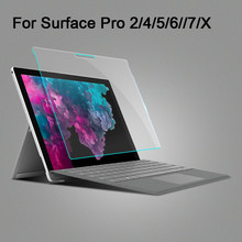 Ultra Thin 9H Screen protector for Microsoft Surface Pro 7 6 5 4 12.3inch Surface 2 3 Pro 3 12