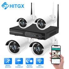 Беспроводная система видеонаблюдения 4 канала 1080p 2 Мп nvr