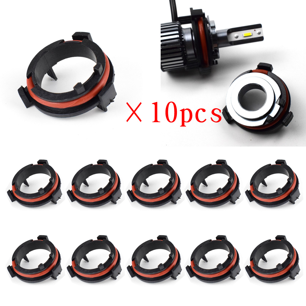Dyoung 10pcs D118 H7 Car Lamp Base Car Accessories H7 Led Adapter For Opel For Honda CRV Mazda Volkswagen V W Saveiro
