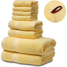 SEMAXE Senior Luxury Cotton Bath Towel Set.Hotel & Spa Quality.Premium Collection Bathroom.Soft,Highly Absorbent(8 towels set