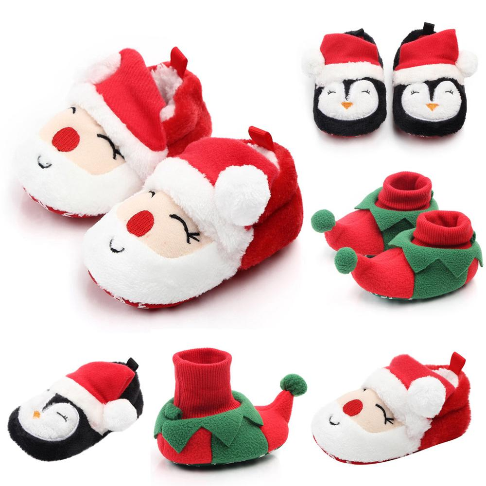 Winter Children Shoes Baby Girl Boys Shoes Comfortable Mixed Colors Fashion First Walkers Kids Shoes Christmas Sapato Infantil