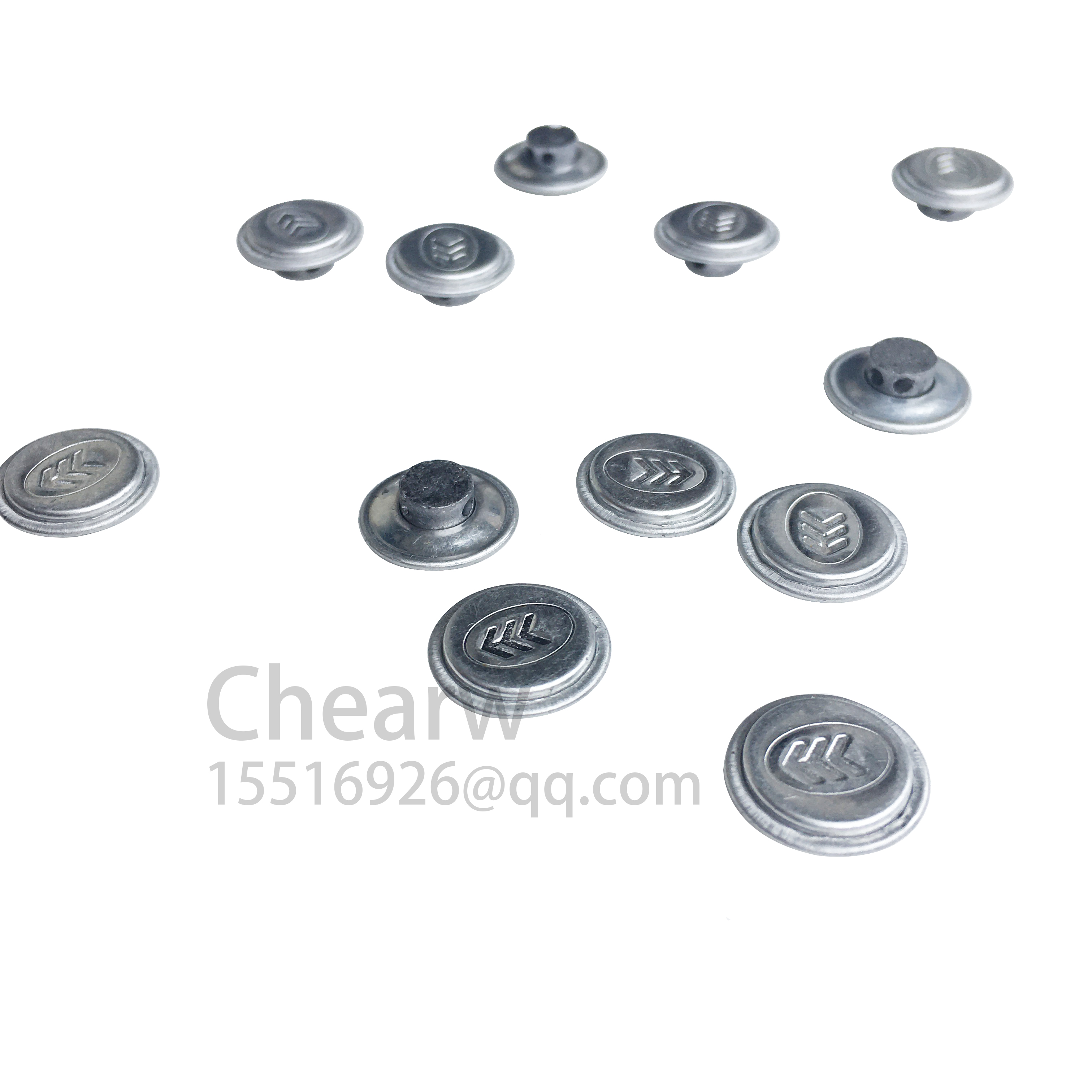 500pieces One Bag Aluminum Shell Disposable Anti-theft Lead Seal Security