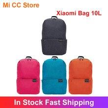 Original xiaomi mochila 10l multi cor 170g peso leve casual esportes peito saco de ombro bonito mi bagpack