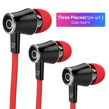 Langsdom Mijiaer JM21 Wired Earphone 3 Pieces Best Deal For 3.5mm Phones Computers