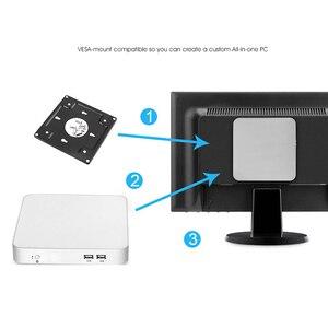 Image 5 - 7th Gen Intel Core Mini PC i7 7500U i5 7200U i3 7100U Windows 10 Linux 4K UHD HTPC HDMI VGA 6*USB 300M WiFi Gigabit Ethernet