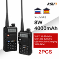 Радиостанция KSUN UV5R B VHF UHF 136-174 и 400-520 МГц, двухсторонний радиопередатчик, рация UV 5R