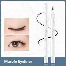 Eye Beauty Marble Eyes Makeup Eyeliner Pencil Liquid Waterproof Eyeliner Long-Lasting No Blooming Eye Liner Pen Cosmetic Makeup
