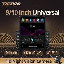 Tiebro 9.7 Polegada 2din android 9.0 rádio do carro para universal 2gb + 32gb carro dvd player gps rádio wifi 2din para universal autoradio