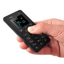 Aiek m5 desbloqueado dos desenhos animados criança menina vibração bt música bt dialer mp3 fm tamanho pequeno mini cartão de crédito ultrafino telefone móvel p220