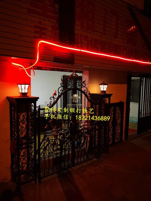 Wrought Iron Gate,iron Gates Steel Wrought Iron Gate