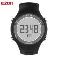 Reloj deportivo Digital para hombre para correr al aire libre con cronómetro despertador y temporizador de Cuenta regresiva 30M impermeable EZON L008
