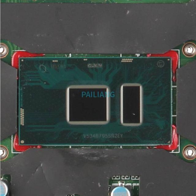 PAILIANG Laptop płyta główna do hp Probook 430 440 G3 DA0X61MB6G0 830937-601 płyty głównej płyta główna rdzeń SR2EY i5-6200U testowane DDR3