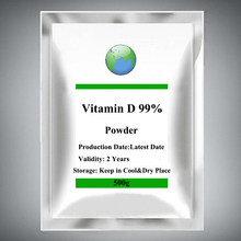Vitamin D Powder 10000 Iu Promotes Calcium Absorption 500-1000g,Can Prevent Rickets In Children
