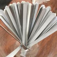 100 pçs novo 85mm tira de metal diy alumínio nariz ponte acessórios ao ar livre nariz cip máscara ponte a3u4|Ferram. atividade ar livre| |  -