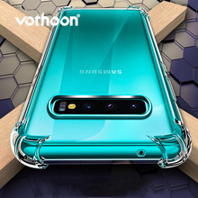 Vothoon Shockproof Clear Case Voor Samsung Galaxy S10e S10 Plus Transparant Clear Silicon Soft TPU Case Voor Samsung S10 plus(China)