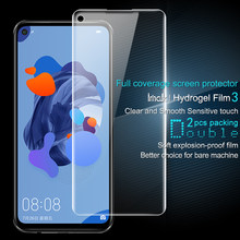 IMAK Huawei Nova 5i Pro Screen Protector Hydrogel III Front 0.15MM Front&Back Soft TPU Film for Huawei Nova 5i Pro Not Glass(China)