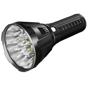 LED Flashlight 100000 Lumens Cree Xhp70 Outdoor 18x with 1350m Long-Range DHL