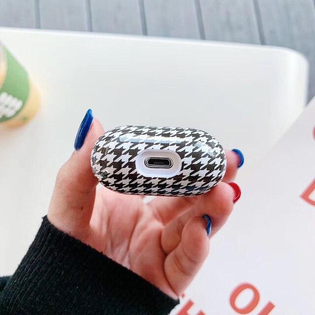 Купить роскошный брендовый жесткий пк беспроводной чехол для зарядки картинки цена