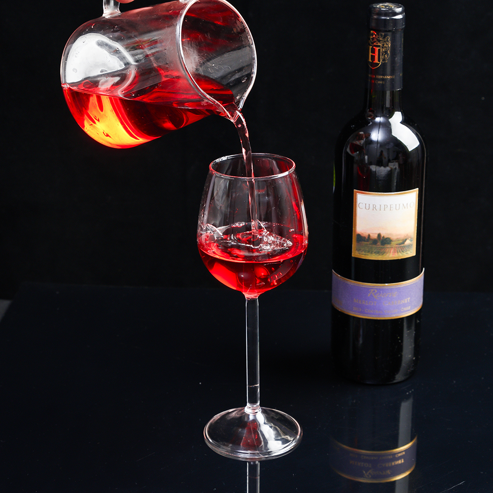 Fine European Crystal Glass Shark Red Wine Glasses Cup Glass 300ml Shark Style
