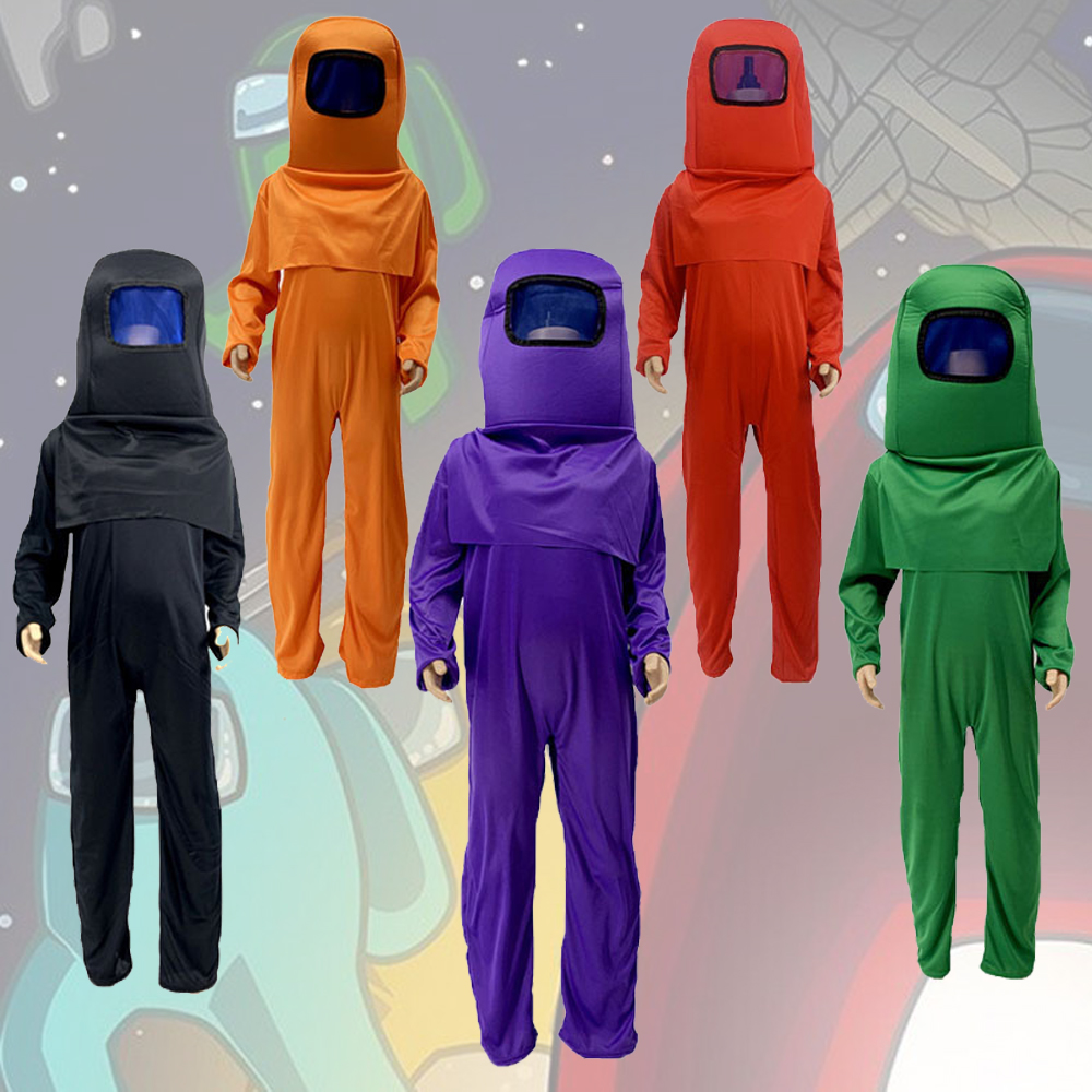 Карнавальный костюм для детей, у нас комбинезон костюмы на Хэллоуин Косплэй Аниме игра у нас дети платье для ролевых игр маска Комплект боди