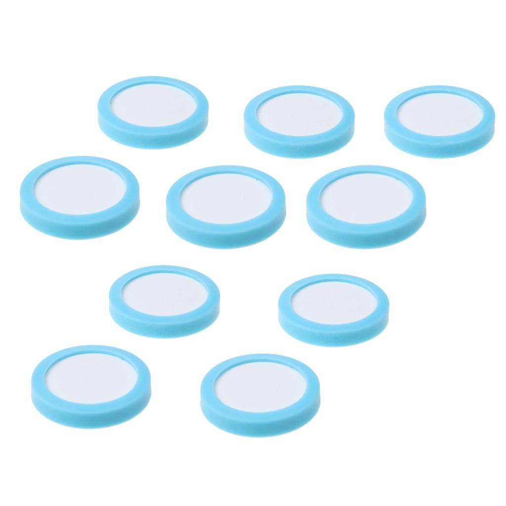 10pcs Aquarium CO2 Ceramic Diffuser Disc Replacement CO2 Atomizer Slice