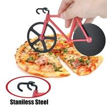 Нож для пиццы из нержавеющей стали двухколесный нож для резки пиццы инструмент для пиццы круглый нож для пиццы желтый