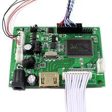 "HDMI + AV وحدة تحكم بشاشة إل سي دي المجلس ل 15.6 ""B156XW02 LP156WH2 1366x768 واط/التحكم عن بعد 40Pin إشارة لوحة المفاتيح كابل"