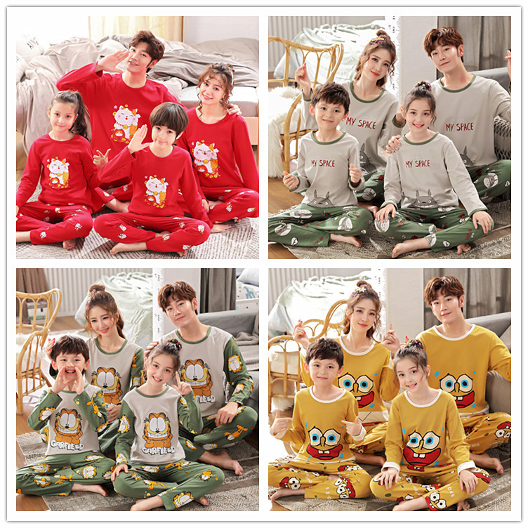 He62878e562574d07ba5e8d57b82e73b5T - Parent Child Kids Outfits Family Matching dad Mommy and Me Baby Pajamas Sets Sweaters Mother and Daughter Clothes Madre E Hija