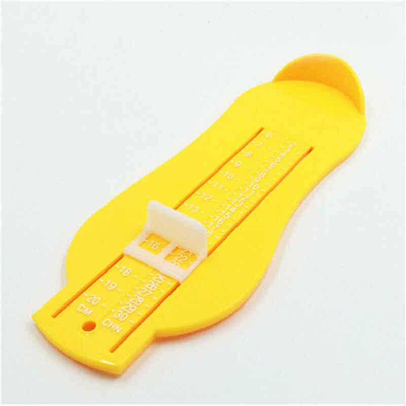 Moda Footful Pé Sapatos de Dispositivo De Medição de Calibre Régua Ferramenta para Medir o Bebê em Casa EUA 5 Cores