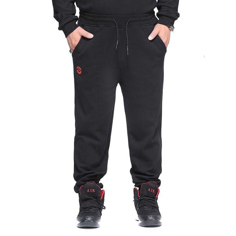 Winter New Style Large Size Plus Velvet MEN'S Pants Casual Plus Velvet Plus-sized Men's Casual Athletic Pants Supply Of Goods St