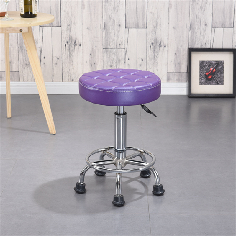 Salon Stool Hairdressing Barber Chair Beauty Swivel  Lift rotary bar stool bar stool printing beauty stool High Bar Stool