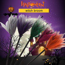 FREE SHIP New Fashion Funny Toy игрушки Halloween Decoration Witch Flying Broomstick Party Dance Costume Props Dress Up Kids Gif(China)