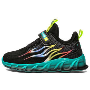 Image 3 - Kids Running Shoes Boys Basket Sneakers Men Sports Shoes For Girls Breathable Trainers Children Walking Jogging Hombre Footwear