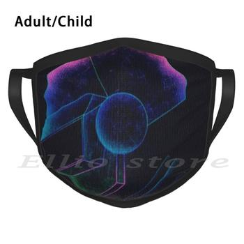 Pubg Neon Print Washable Anti Dust Scarf Mask Pubg Mobile Gameplay Stream Arabic Game Lovers Soviet Union Pubg Lite Пубг image