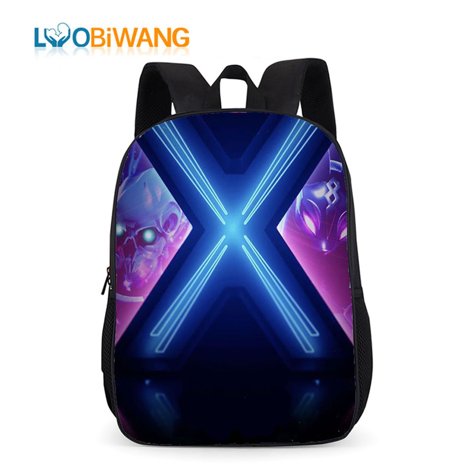 LUOBIWANG Battle Royale Primary School Bags For Kids Elementary School Backpack For Boys And Girls Student Plecak Bookbag