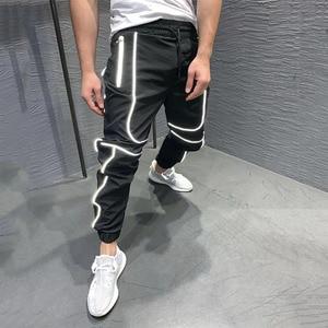 Image 3 - GYMOHYEAH Herbst NEUE Streetwear Fitness Hosen Männer Hip Hop Jogginghose Mens Casual Jogger Unisex Harajuku Jogger Jogginghose