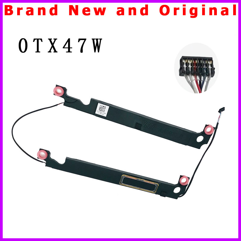 NewLaptop Speaker Set - R+L Left Right for Dell XPS 15 9550 9560 9570 7590 / Precision 5510 5520 5530 5540 M5510 0TX47W TX47W