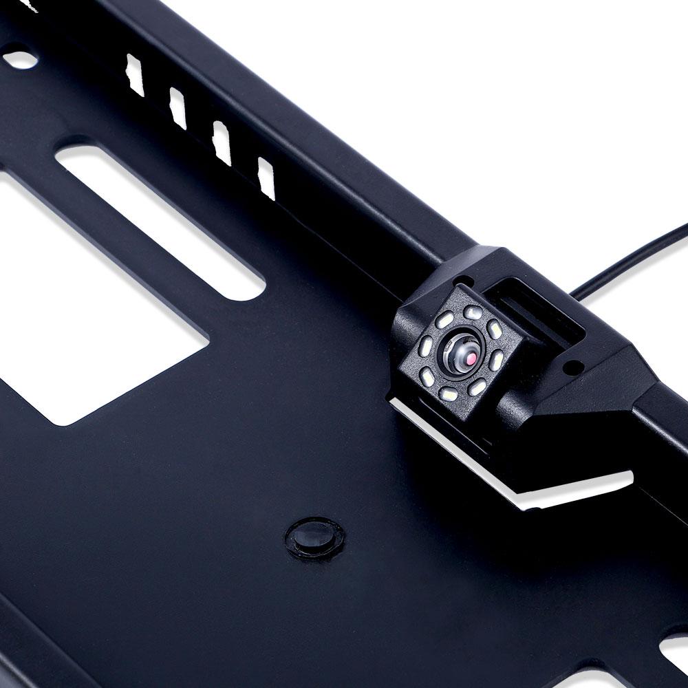 lowest price 4 3 5 TFT Car Monitor Rear View Camera Waterproof EU European License Plate Frame Parktronic Reverse Night Vision Backup Camera