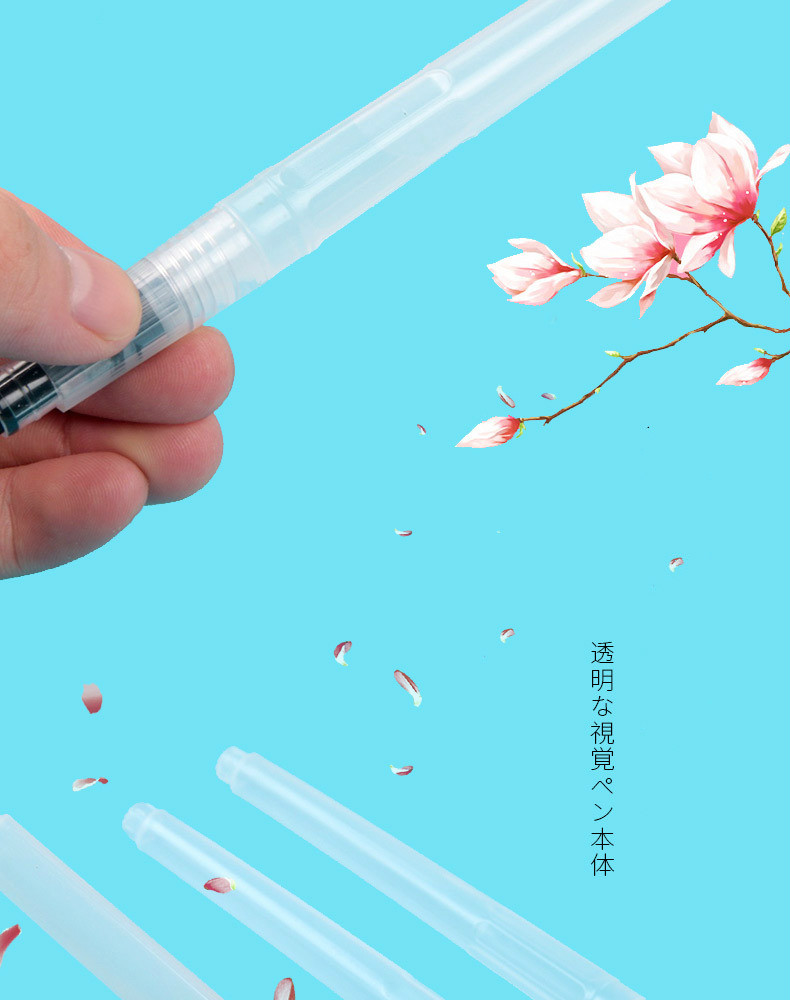 He629d6a256d1402a8caf60b0a2b287f3Q - 1PC Portable Paint Brush Water Color Brush Pencil Soft Watercolor Brush Pen for Beginner Painting Drawing Art Supplies