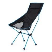 Cadeira de acampamento portátil leve ao ar livre dobrável mochila alta volta cadeiras acampamento com encosto de cabeça para piquenique praia caminhadas